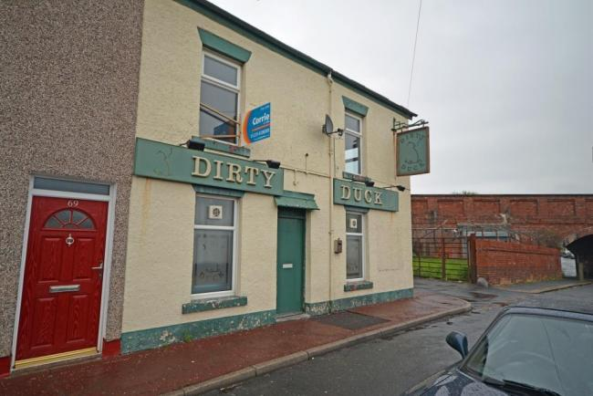 ON THE MARKET: The Dirty Duck, in Barrow's Raglan Street, is for sale