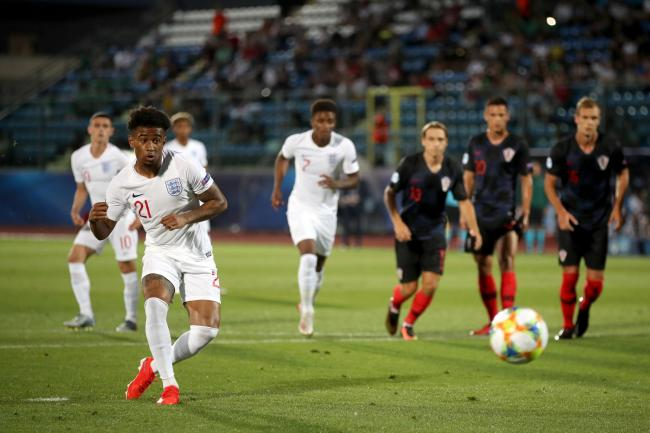 Croatia v England – 2019 UEFA European Under-21 Championship – Group C – San Marino Stadium