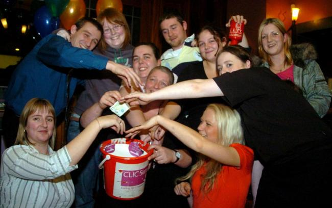SUCCESS A total of £300 was raised for charity in January 2007  by a head shave at Barrow's Furness Railway pub.