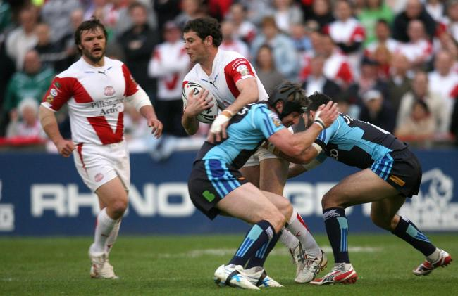 MAKING THE JOURNEY: Former St Helens star Paul Wellens is one of the legends involved