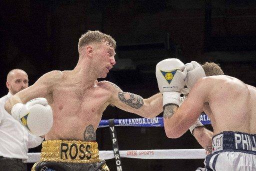 READY TO FIGHT: Ross Cooksey is stepping into the ring for the first time in 11 months