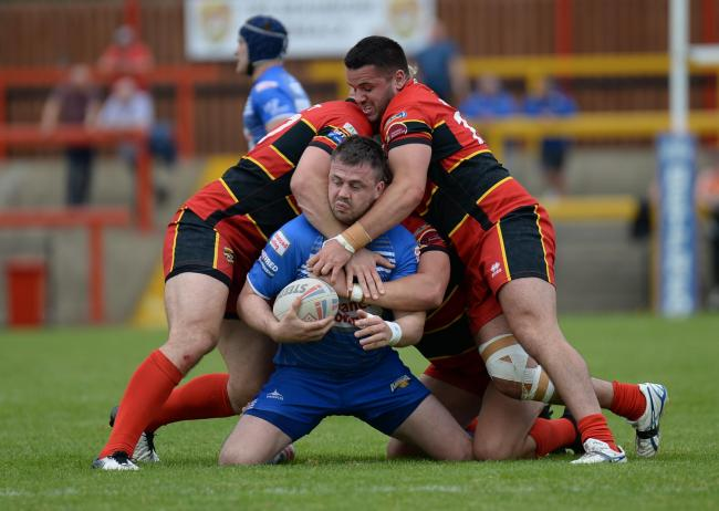 There's no way through for Raiders' Martin Aspinwall
