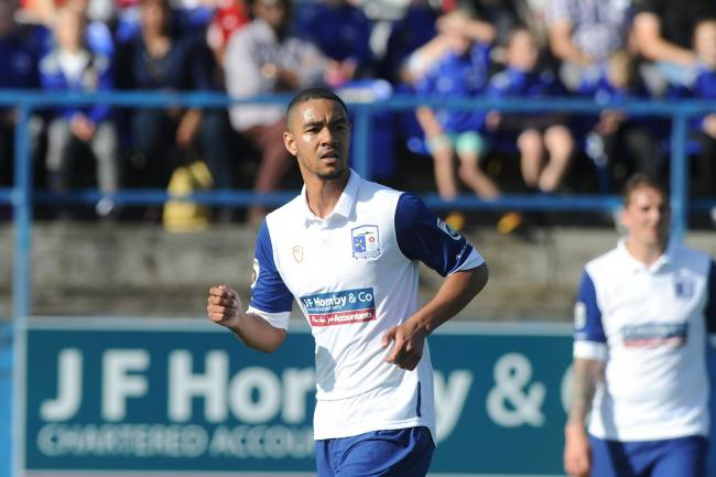 FORMER FAVOURITE: Byron Harrison had a good goalscoring record with the Bluebirds