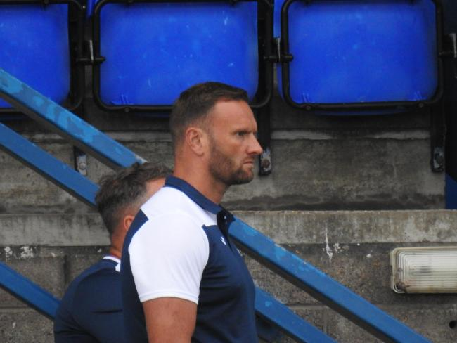 EXPECTS MORE: Barrow AFC manager Ian Evatt wants his team to work harder in an out of possession