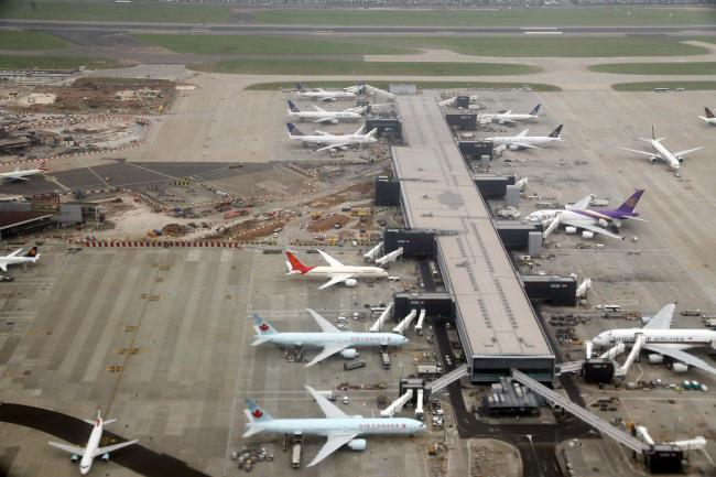 Heathrow is the UK's busiest airport (Owen Humphreys/PA)