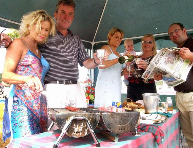 COMING UP: The Barbecue Meeting is a big highlight of the calendar at Cartmel            Picture: Jon Granger
