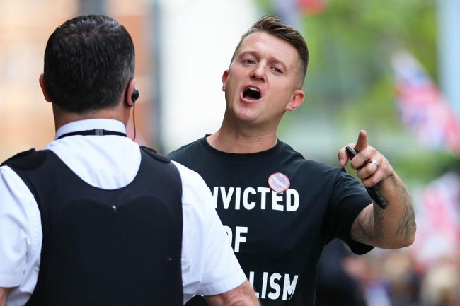 JAILED: Former English Defence League (EDL) leader was in contempt