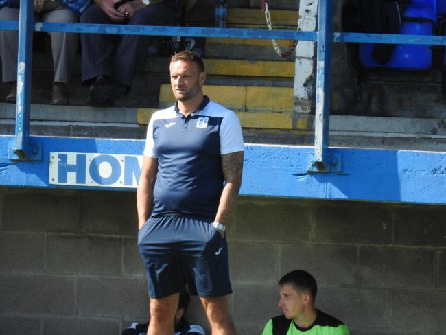 NEEDS COVER: Barrow AFC manager Ian Evatt believes he is short of numbers in the centre of defence