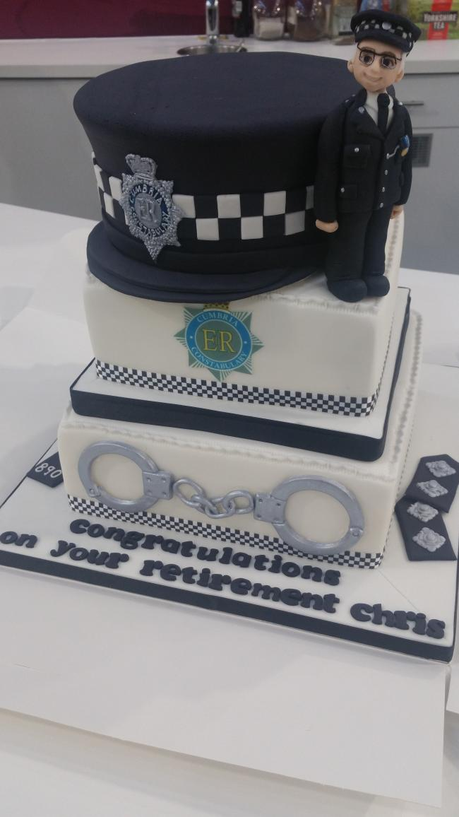 Tremendous Police Officer Chris Ohare Retires After 30 Years The Mail Funny Birthday Cards Online Hendilapandamsfinfo