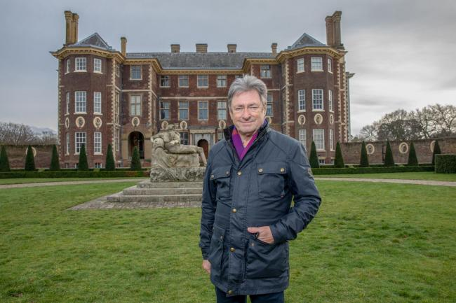 Undated Handout Photo from Secrets of the National Trust. Pictured: Alan Titchmarsh at Ham House on the banks of the River Thames, in Richmond. See PA Feature SHOWBIZ TV Quickfire Titchmarsh. Picture credit should read: PA Photo/Channel 5/Spun Gold TV/An