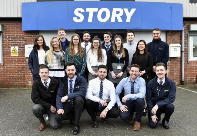 Story Contracting graduates