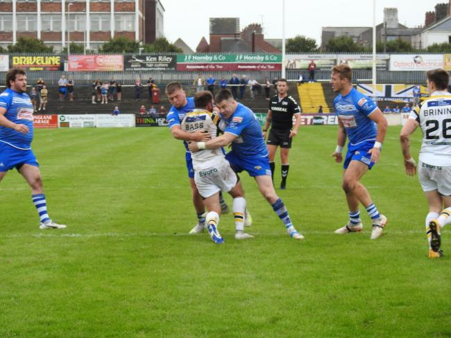ROUTE BACK: Barrow Raiders are fully focused on winning promotion back to the Betfred Championship                   Picture: Leigh Ebdell