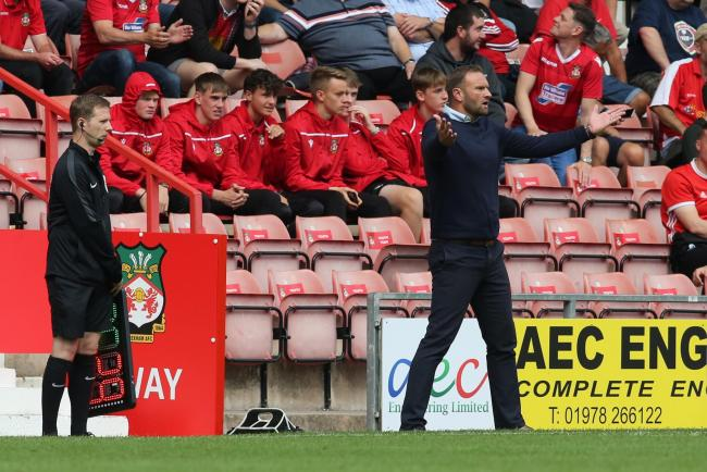 Ian Evatt was short of defensive cover in the defeat at Wrexham