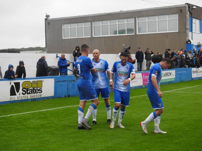 Scott Quigley scored his first goal for the Bluebirds against the Spitfires