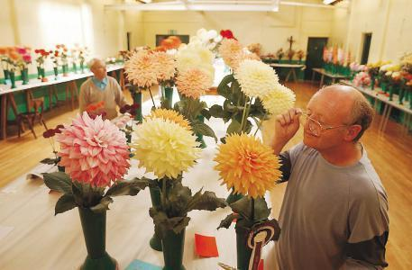 DISPLAY: Dalton and District Horticultural Society's annual show takes place on August 17. It will see judges pick from the best chrysanthemums, sweet peas and other vegetable classes. Winners will receive up to £500 in prize money from the sh