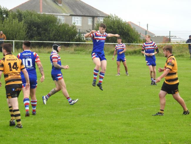 JUST VITAL: Walney Central desperately need a result against Orrell St James tomorrow         Pictures: Leigh Ebdell