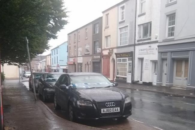 INCIDENT: Cars in Crellin Street, Barrow