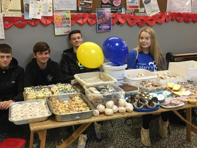 "WORTHY CAUSE: The National Citizenship Service were in the market hall yesterday with a cake sale in aid of St Mary's Hospice. A spokeswoman from Barrow Market Hall said: ""Thank you to everyone who supported them."""