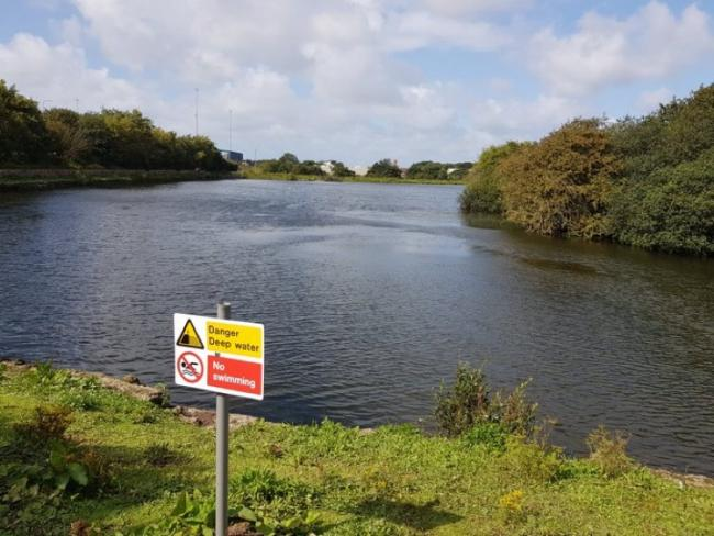 Man rescued from Barrow reservoir