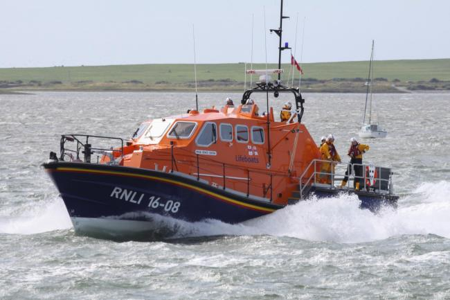 RESCUE: The all-weather lifeboat 'Grace Dixon'