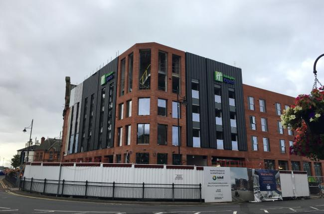 Holiday Inn Express opening date revealed
