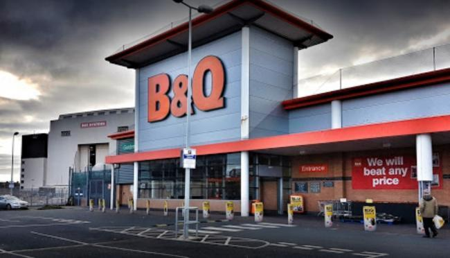 DIY: B&Q's store in Barrow has also seen the cooker recalled