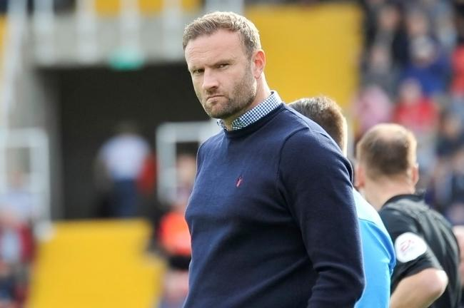BITTERLY DISAPPOINTED: Ian Evatt was annoyed by Barrow AFC's match against Dover being called off