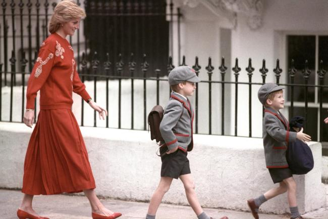 In Pictures: Royals on their first day at school | The Mail
