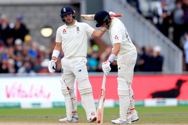 Rory Burns and Joe Root help England fight back   The Mail