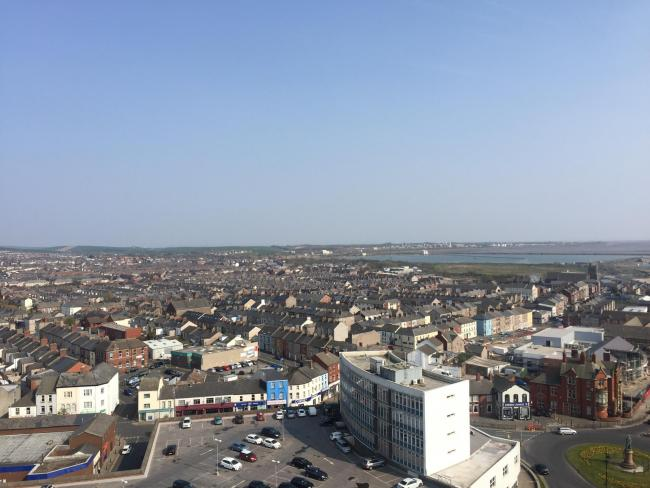OVERVIEW: A view over Barrow and the town centre by The Mail Camera Club member Michael Thomas