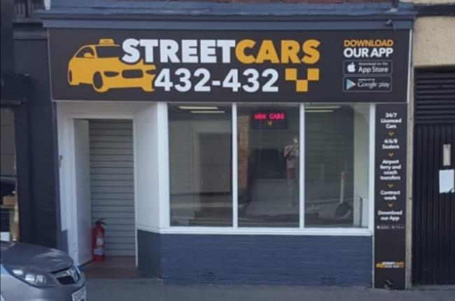 REBRAND: Street Cars taxi office in Barrow
