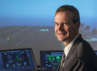 TALK: Engineer David Atkinson works for BAE Systems Air