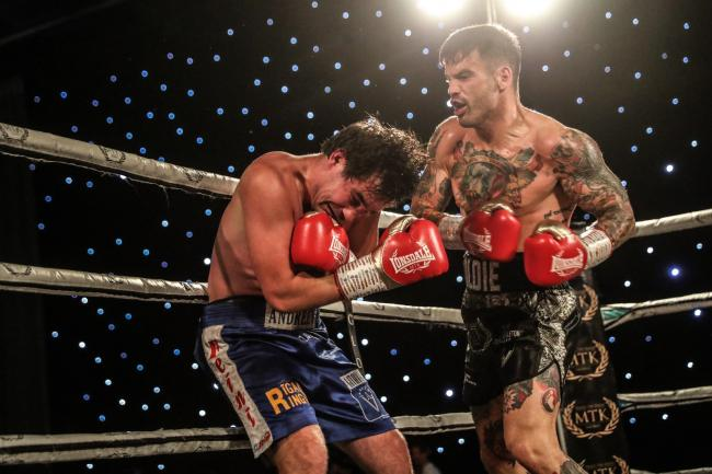 Mike McGoldrick controlled the fight throughout.   Picture: MTK Global