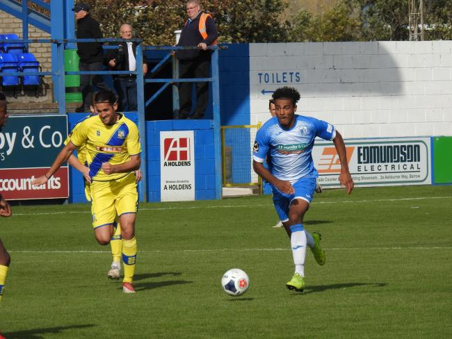 The Bluebirds beat Solihull 3-0 at Holker Street last month
