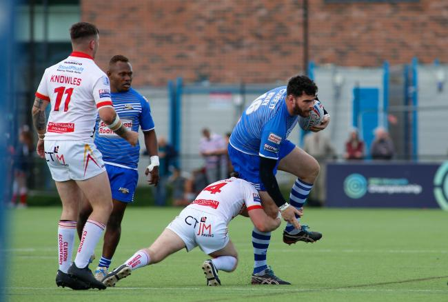 ON THE MOVE: Glenn Riley spent two years with Barrow Raiders