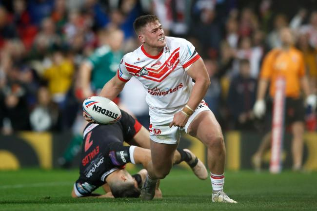 Morgan Knowles scored for St Helens in last week's Super League Grand Final