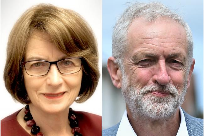 Louise Ellman and Jeremy Corbyn