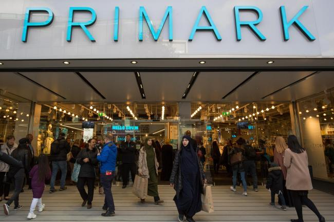 Primark warning customers not to buy its products online