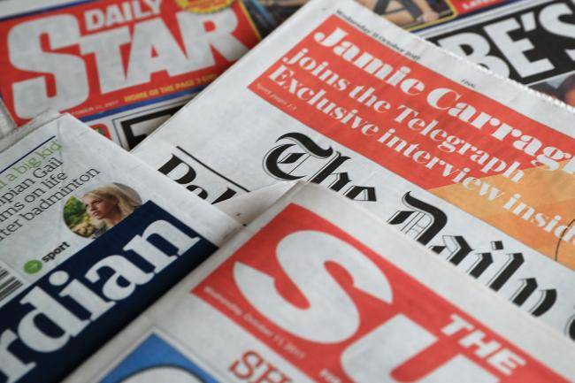 British newspapers
