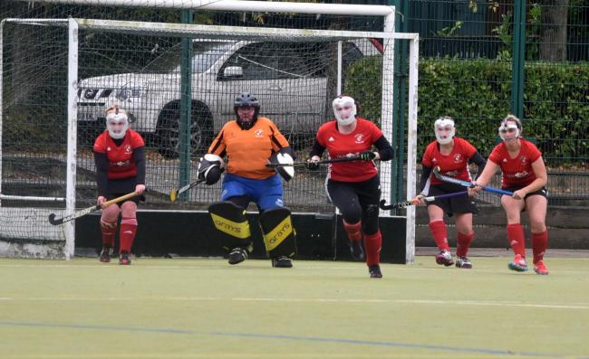 DOUBLE DUTY: South Lakes ladies had to play in two matches last weekend                Picture: Chris Warner
