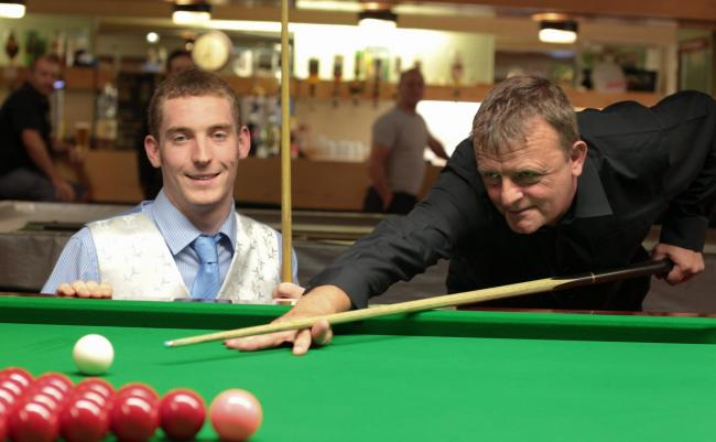 DOUBLE DUTY: Harry Bateman played two table games for the Barrow Football Supporters Club