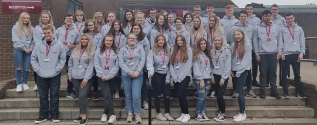 WELCOME: New students at Barrow Sixth Form College