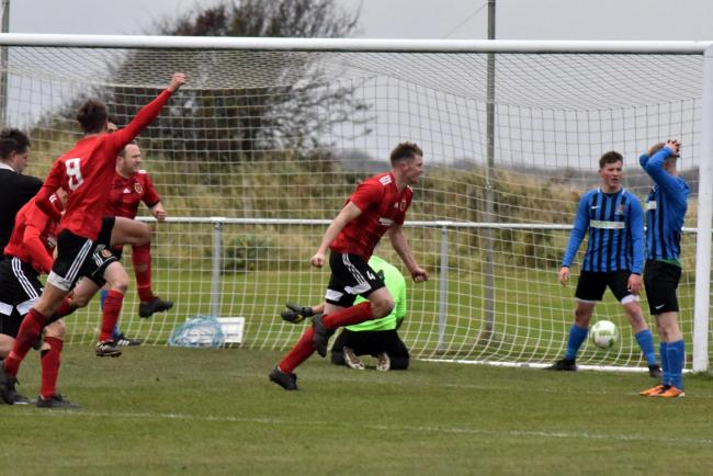 BIG SCORE: Millom had no problems in defeating Haverigg United in the Furness Senior Cup