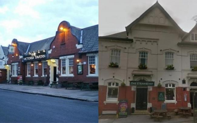 The Victoria Tavern and the Strawberry