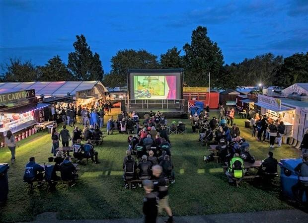 An outdoor cinema just one of the attractions planned for the new TT Fan Park
