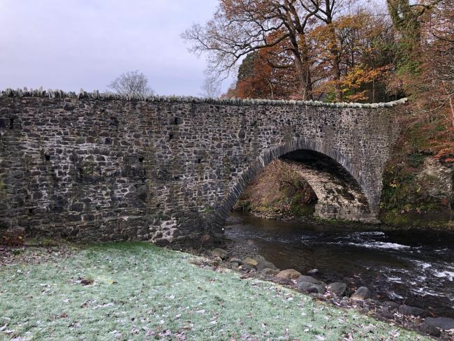 Calvert Bridge near Keswick is up for auction with a starting price of just £1 (PHOTO: DEMOCRACY PR)