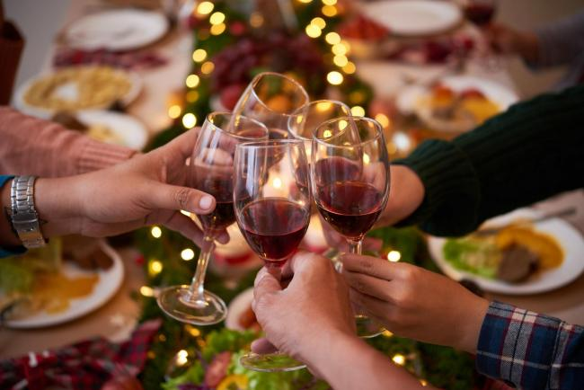 A generic photo of Christmastime drinking. See PA Feature CHRISTMAS First Time Cooks. Picture credit should read: iStock/PA. WARNING: This picture must only be used to accompany PA Feature CHRISTMAS First Time Cooks..
