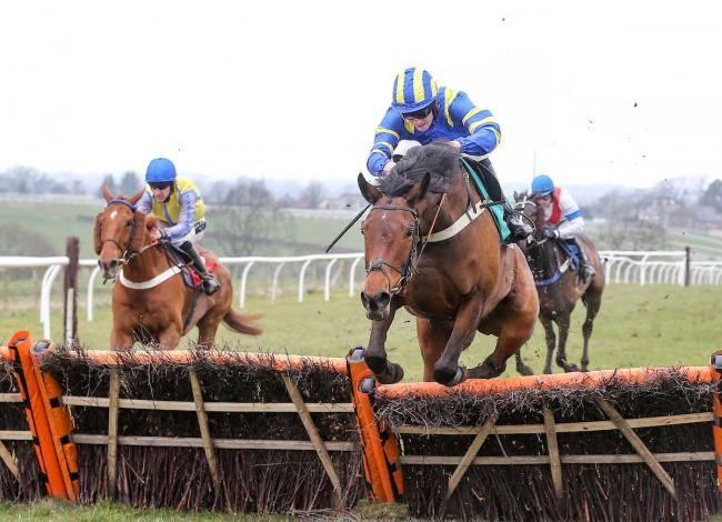 THEY'RE BACK: The novices hurdle will open the first meeting of the year at Carlisle on Monday