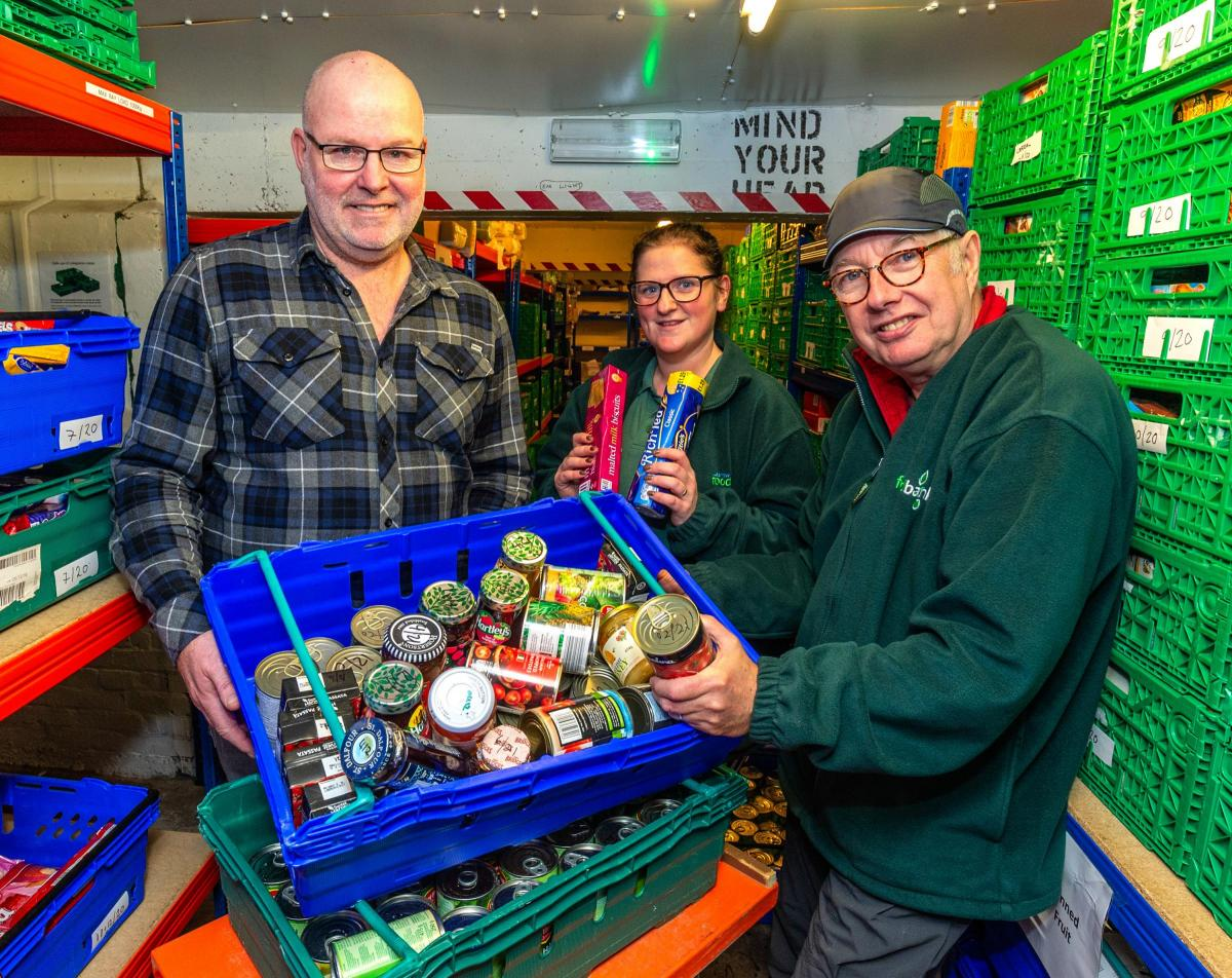 Town Unites For Foodbank The Mail