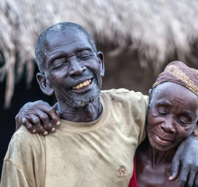 Gordane and Suhura, a couple from Mozambique, whose sight has been restored (Picture: Sightsavers)